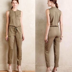 NWOT Anthro Elevenses utility jumpsuit